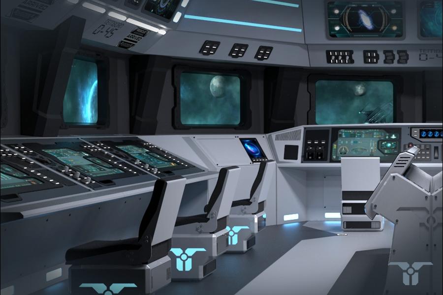 EK - 指挥舱001